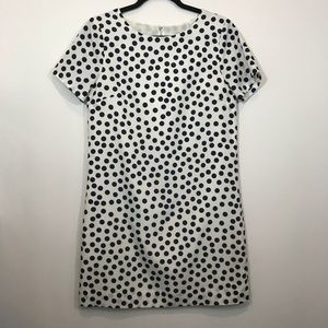 J. Crew Scattered dots dress